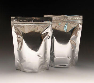 Stand-Up Metalized Barrier Pouch