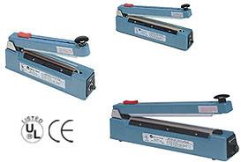 IMPULSE SEALERS WITH CUTTERS