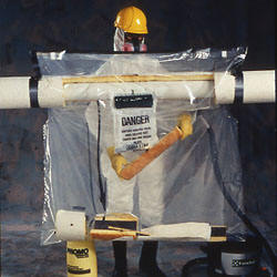 Avail Short Pipe Section Asbestos Glove Bags Asbestos
