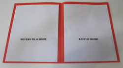Custom homework folders