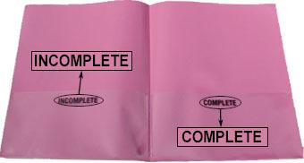 classwork folder